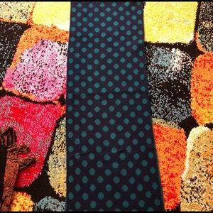 🌼Scarf Sale🌼 Polka Dot Green scarf sale